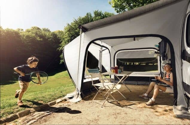 Thule Quickfit Tent For Caravans Motorhomes And Van