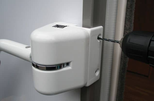 Security Handrail Door Frame Kit