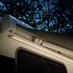 Fixation Tent | LED Rail for Thule Omnistor 5200