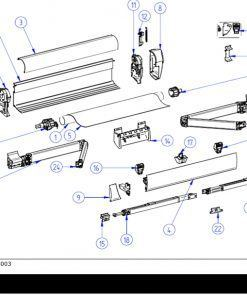 Thule Omnistor 5003 Spare Parts