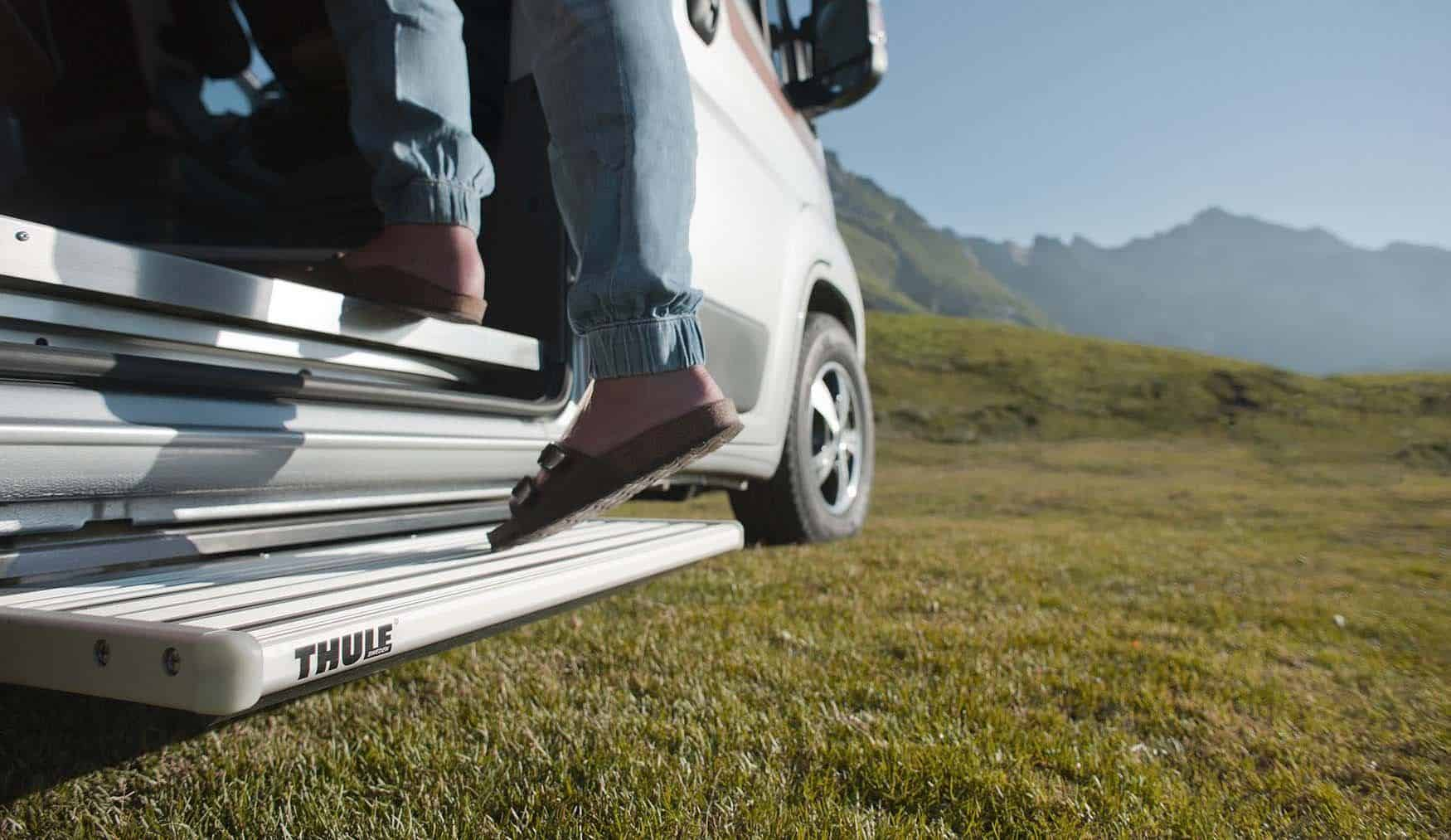 thule vehicle slide out step ducato