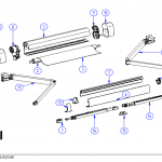 Thule Omnistor 5102 (California) Spare Parts