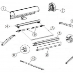 thule omnistor 2000 spare parts