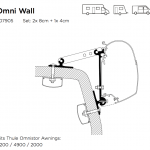 Thule Awning Wall Mounting Adapters