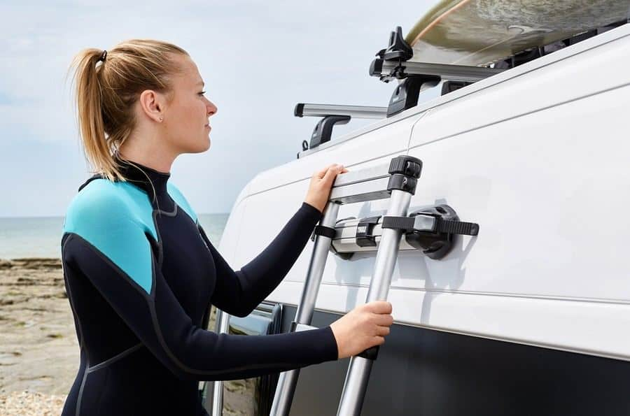 thule ladder fixation kit