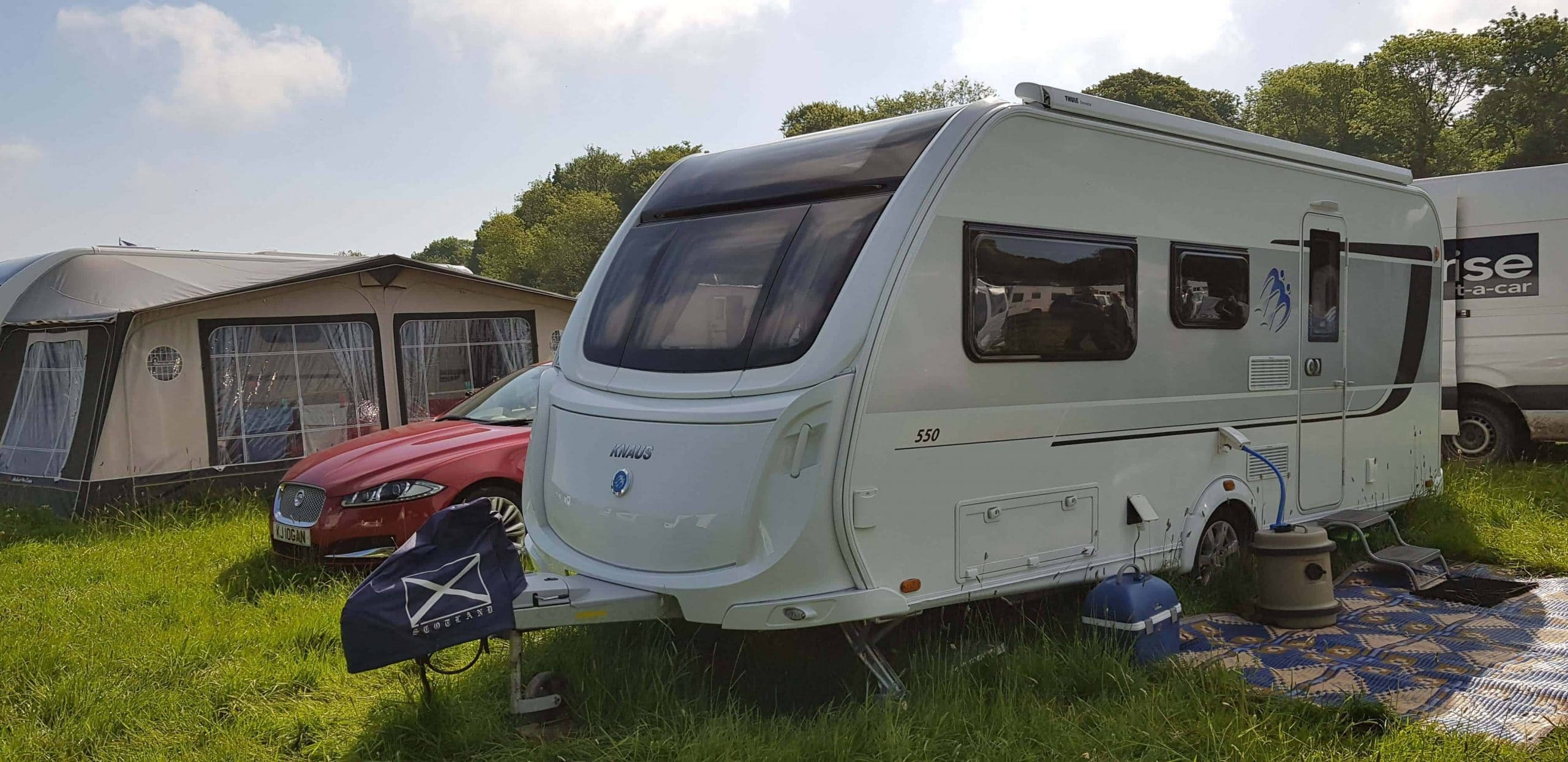Recent Work on Caravans by Rose Awnings - Rose Awnings