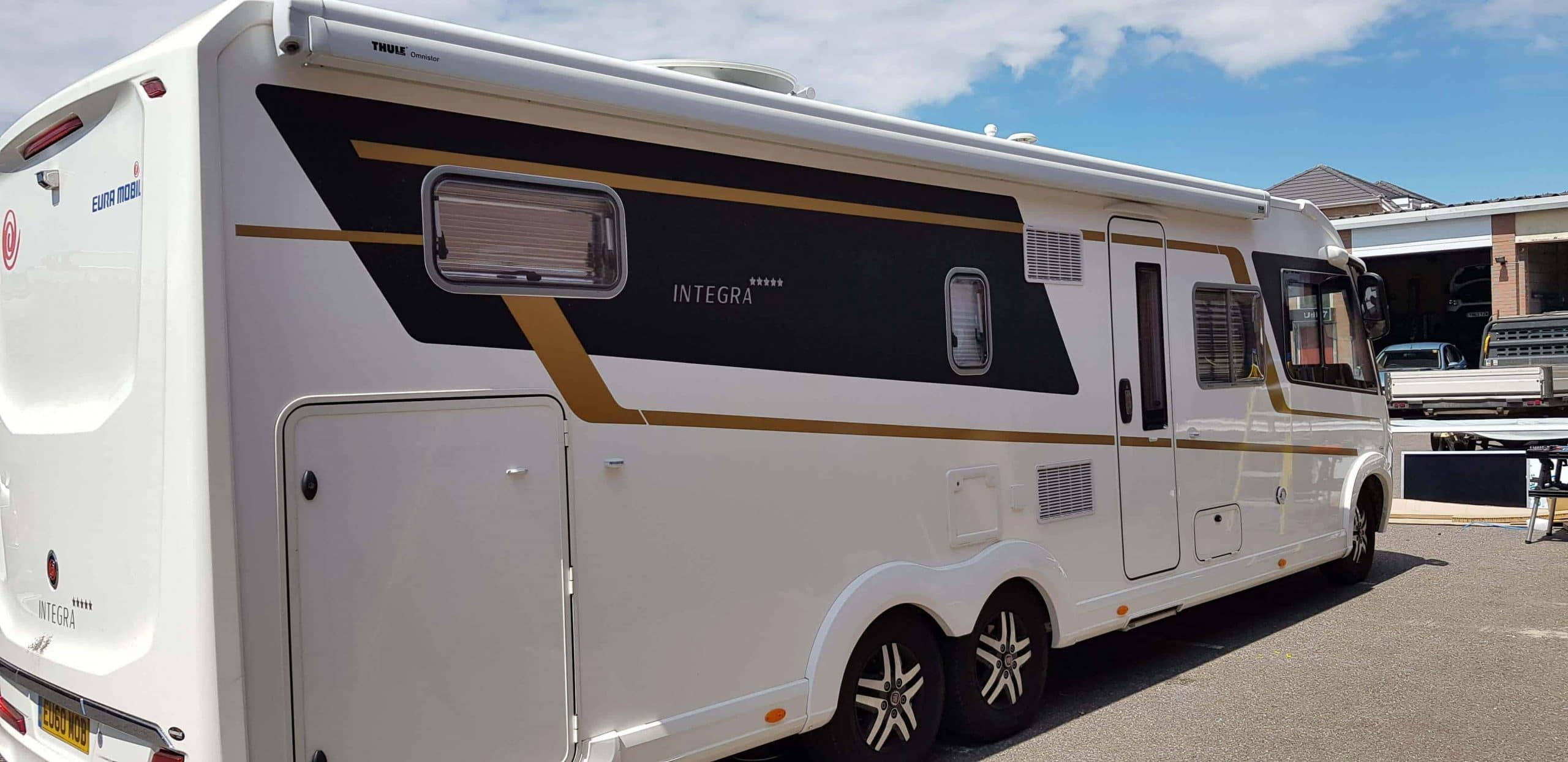 Recent Work on Motorhomes by Rose Awnings - Rose Awnings