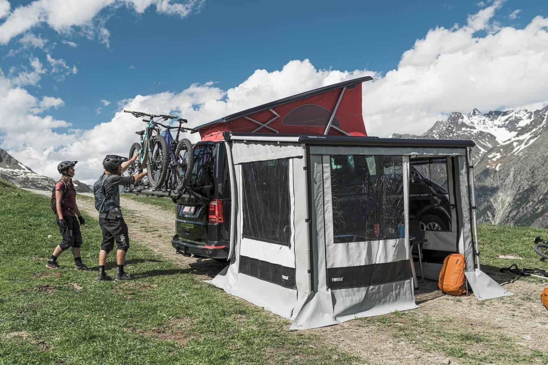 Thule Wanderway T6 Bike Rack For Vw California Van
