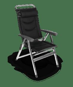 Dometic Quattro Milano Pro Black Chair